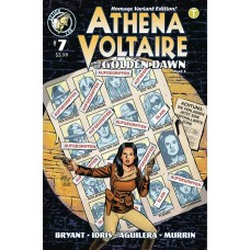 ATHENA VOLTAIRE 2018 ONGOING #7 CVR B MILLET