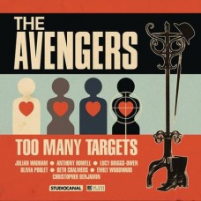 AVENGERS TOO MANY TARGETS AUDIO CD