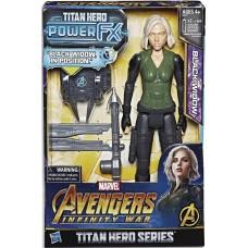AVENGERS 12IN TITAN HERO POWER FX BLACK WIDOW AF CS