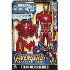 AVENGERS 12IN TITAN HERO POWER FX IRON MAN AF CS
