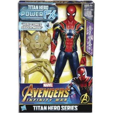 AVENGERS 12IN TITAN HERO POWER FX SPIDER-MAN AF CS