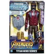 AVENGERS 12IN TITAN HERO POWER FX STAR-LORD AF CS