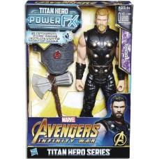 AVENGERS 12IN TITAN HERO POWER FX THOR AF CS