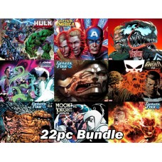 MARVEL JULY PREVIEWS IMMORTAL WRAPAROUND VARIANT 20PC BUNDLE BAGGED & BOARDED @D