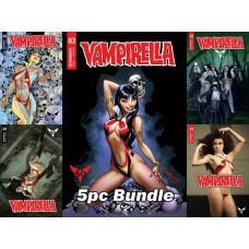 VAMPIRELLA #3 CVR A B C D E 5PC BUNDLE @A