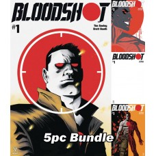 BLOODSHOT (2019) #1 CVR A B C D E 5PC BUNDLE @A