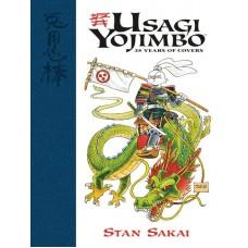 USAGI YOJIMBO 35 YEARS OF COVERS HC @D