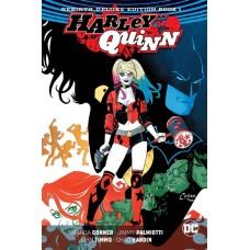 HARLEY QUINN REBIRTH DLX COLL HC BOOK 01 @D