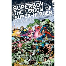 SUPERBOY AND THE LEGION OF SUPERHEROES HC VOL 01 @D