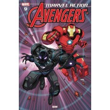 MARVEL ACTION AVENGERS #9 SOMMARIVA @D