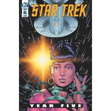 STAR TREK YEAR FIVE #6 CVR A THOMPSON @D