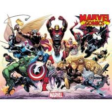 MARVEL COMICS #1001 GLEASON WRAPAROUND VARIANT @D