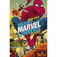 HISTORY OF MARVEL UNIVERSE #3 (OF 6) RODRIGUEZ VARIANT @D