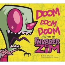 DOOM DOOM DOOM ART OF INVADER ZIM HC @F