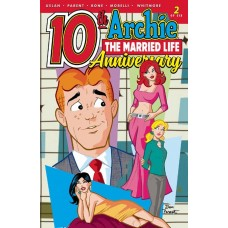 ARCHIE MARRIED LIFE 10 YEARS LATER #2 CVR A PARENT @D