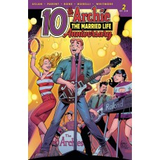 ARCHIE MARRIED LIFE 10 YEARS LATER #2 CVR C PEPOY @D