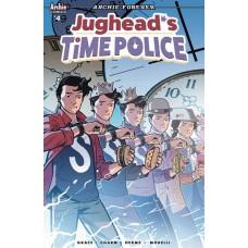 JUGHEAD TIME POLICE #4 (OF 5) CVR B ISAACS @D