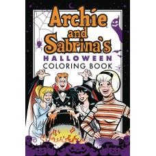 ARCHIE & SABRINA HALLOWEEN COLORING BOOK SC @D