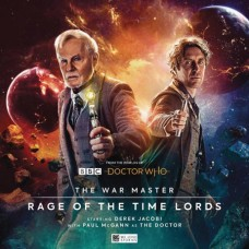 DOCTOR WHO WAR MASTER RAGE OF TIME LORDS AUDIO CD @F
