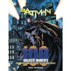DC COMICS BATMAN 100 GREATEST MOMENTS HC @F