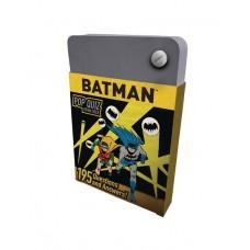 DC COMICS BATMAN POP QUIZ TRIVIA DECK @F