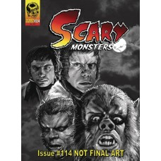 SCARY MONSTERS MAGAZINE #114 @F