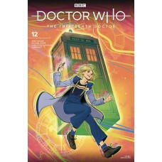 DOCTOR WHO 13TH #12 CVR A FISH @U