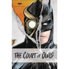 BATMAN COURT OF OWLS NOVEL @F
