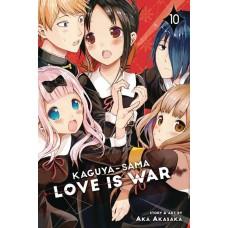 KAGUYA SAMA LOVE IS WAR GN VOL 10 @U