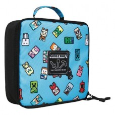 MINECRAFT BOBBLE MOBS LUNCH BOX @F