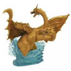 GODZILLA GALLERY 1991 KING GHIDORAH DLX PVC FIG @F