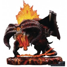 LORD OF THE RINGS BALROG DEFO REAL SOFT VINYL STATUE DLX VER @J