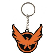 THE DIVISION 2 ON THE MOVE RUBBER KEYCHAIN @F
