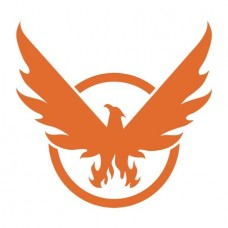 THE DIVISION 2 PHOENIX ON BOARD WINDOW DECAL @F