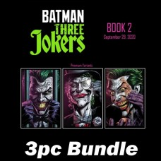 BATMAN THREE JOKERS #2 CVR D E F PREMIUM VARIANT BUNDLE