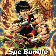 SHANG-CHI #1 REG AND VARIANT BUNDLE (RES)