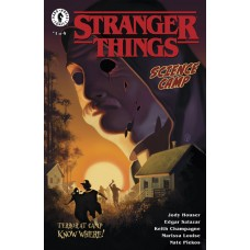 STRANGER THINGS SCIENCE CAMP #1 (OF 4) CVR A KALVACHEV