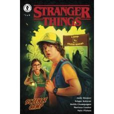 STRANGER THINGS SCIENCE CAMP #1 (OF 4) CVR B LAMBERT