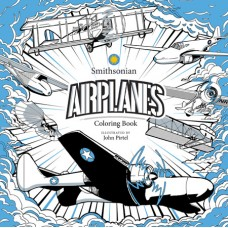 AIRPLANE SMITHSONIAN COLORING BOOK (C: 0-1-0)