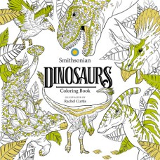 DINOSAURS SMITHSONIAN COLORING BOOK (C: 0-1-0)