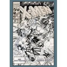 JIM LEES X-MEN ARTIST ED HC (Net) (C: 0-1-1)