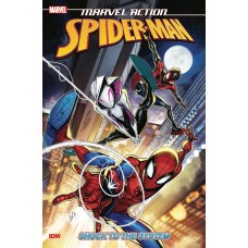 MARVEL ACTION SPIDER-MAN SHOCK TO THE SYSTEM TP (C: 0-1-0)