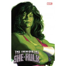 IMMORTAL SHE-HULK #1 ALEX ROSS SHE-HULK TIMELESS VAR