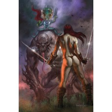 MARS ATTACKS RED SONJA #2 PARRILLO LTD VIRGIN CVR