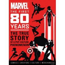 MARVEL COMICS FIRST 80 YEARS HC (C: 0-1-0)