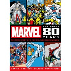 MARVEL COMICS FIRST 80 YEARS SC NEWSTAND