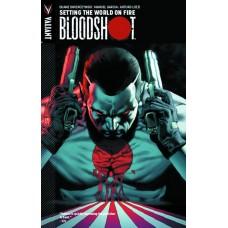 BLOODSHOT TP VOL 01 SETTING WORLD ON FIRE
