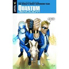 QUANTUM & WOODY TP VOL 01 WORLDS WORST SUPERHERO TEAM