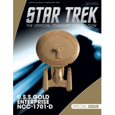 STAR TREK STARSHIPS SPECIAL #23 GOLD USS ENTERPRISE (C: 0-1-