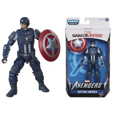 AVENGERS LEGENDS VIDEO GAME 6IN CAPTAIN AMERICA AF CS (Net)
